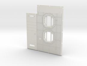 DeAgo Falcon Main Hold Floor strong & flexible in White Premium Versatile Plastic: 1:43