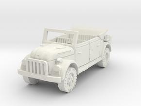 steyr 1500 kommandeurwagen 1/87 in White Natural Versatile Plastic
