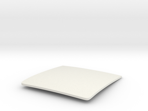 1/8  '30 Ford Roof Insert in White Natural Versatile Plastic