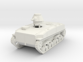 1/87 (HO) SR-I I-Go amphibious tank in White Natural Versatile Plastic