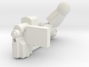 Fireborn 'Warmonger' Carbine in White Natural Versatile Plastic
