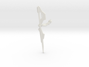 Vakon - Right Arm in White Natural Versatile Plastic