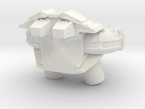 A.D.U. JetPack in White Natural Versatile Plastic
