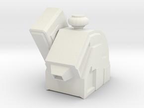 DRX Drone Top in White Natural Versatile Plastic
