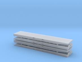 Rollpalette 40' V1 4erSet - 1:120 TT in Smooth Fine Detail Plastic