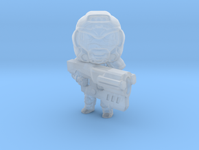 Space Soldier in Smooth Fine Detail Plastic