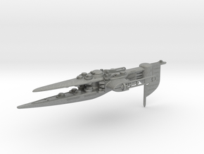 Last Exile. Dreadnought of Ades Federation in Gray PA12