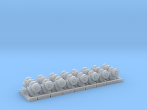SPMT 16 Achslinien komplett 1:120 TT in Smooth Fine Detail Plastic