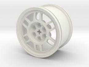 ENKEI RPF1 WHEEL in White Natural Versatile Plastic