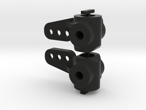 081011-01 Tamiya KingCab & Monster Racer Knuckles in Black Natural Versatile Plastic