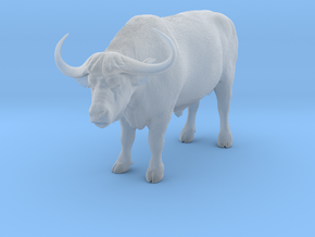 Cape Buffalo 1:12 Standing Male 4 in Smooth Fine Detail Plastic