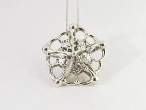 The Starfish in Polished Silver