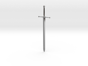 Ice - Ned Stark's Sword -  Game Of Thrones in Fine Detail Polished Silver