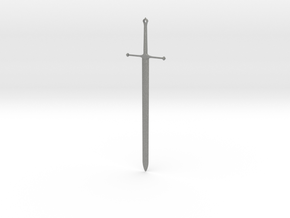 Ice - Ned Stark's Sword -  Game Of Thrones in Gray Professional Plastic