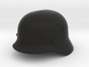 1/7.5 Stahlhelm M35 in Black Natural Versatile Plastic