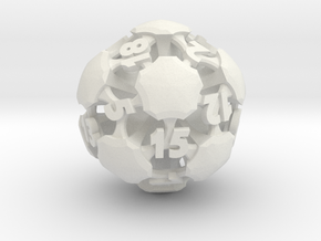 Chord d20 in White Natural Versatile Plastic