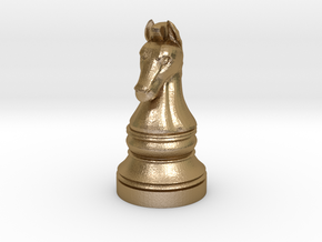 Knight - [2,1] Classic in Polished Gold Steel