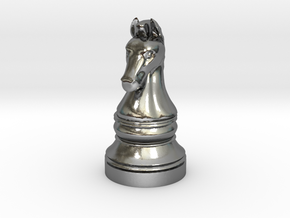 Knight - [2,1] Classic in Polished Silver