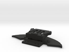 SUPPORT AV MR03 - PNR2.5 - GLA  MC LAREN 12c ABS in Black Natural Versatile Plastic