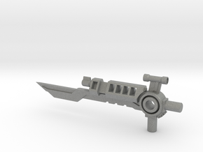 Duelist 5mm Sword/Blaster in Gray PA12