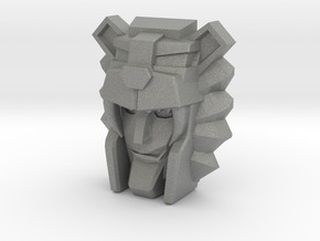 Leozack Faceplate (Titans Return) in Gray Professional Plastic