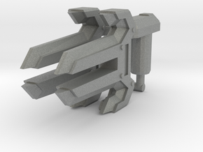 Energon Knuckles (Set of 2, 5mm) in Gray PA12