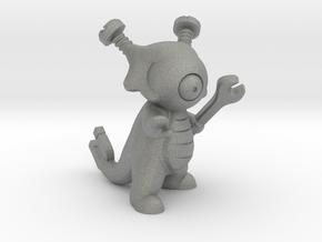 Pokefusion - Magnewak, Shiny in Gray Professional Plastic