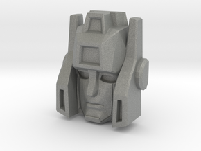 Sideswipe, Sunbow Face (Titans Return) in Gray PA12