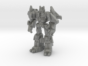 Superion (G1) Miniature in Gray Professional Plastic: Small