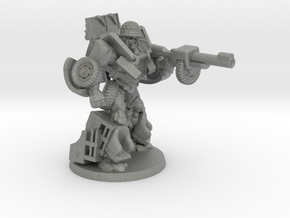 """""""Deadeye"""" - Allied WWII Mechanoid Miniature in Gray Professional Plastic"""