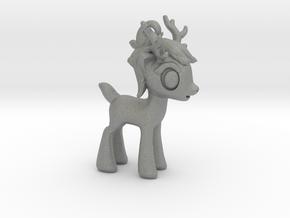 "My Little OC: Smol Reindeer 1.5""  in Gray Professional Plastic"