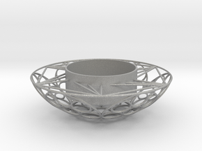 Round Tealight Holder in Aluminum