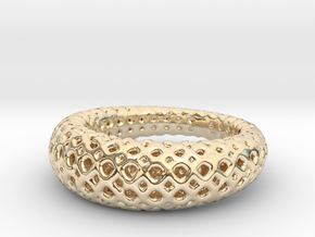 Light Air Ring in 14k Gold Plated Brass