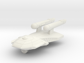 3125 Scale Federation Light Cruiser WEM in White Natural Versatile Plastic