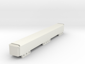 Stick Battery Box (230mm) in White Natural Versatile Plastic