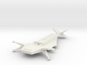 Omni Scale Juggernaut Battleship (BB) SRZ in White Natural Versatile Plastic