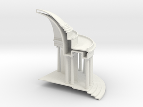 combined model increased facetres 1 quarter rear in White Natural Versatile Plastic