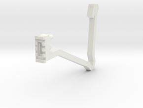 Semi-Auto Sniper Shoulder Stock in White Natural Versatile Plastic