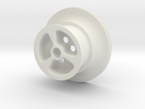 mm_version_TimingPully in White Natural Versatile Plastic