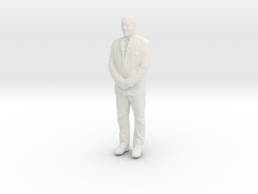 Printle F Taro Aso - 1/18 - wob in White Natural Versatile Plastic