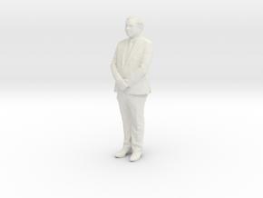 Printle F Yasuo Fukuda - 1/18 - wob in White Natural Versatile Plastic