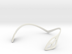 FLOS Choker. Smooth Elegance in White Natural Versatile Plastic: Medium