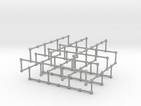 Haugland's grid subgraph no. 1 in Aluminum