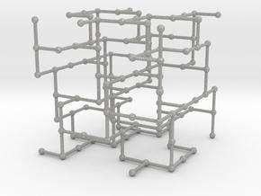Haugland's grid subgraph no. 2 in Aluminum