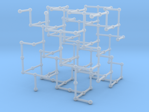 Haugland's grid subgraph no. 3 in Smooth Fine Detail Plastic