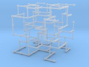 Haugland's grid subgraph no. 4 in Smooth Fine Detail Plastic