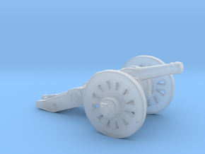 O Scale Cannon in Smooth Fine Detail Plastic