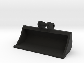 Brede bak / slotenbak 1,50 mtr. breed voor midikra in Black Natural Versatile Plastic