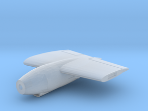 AJ-Savage-144scale-02-Wing-Engine-Left in Smooth Fine Detail Plastic