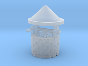 HO Scale Wishing Well in Smooth Fine Detail Plastic